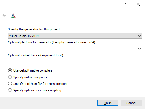 Compile VTK 8 2 0 with Visual Studio 2019 under Windows 10